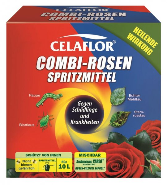 Celaflor Combi-Rosenspritzmittel, 2x 100 ml
