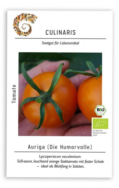 Culinaris Salattomate Auriga (orange), 20 Korn