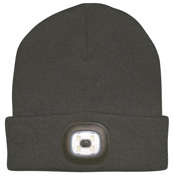 Ryom Mütze mit LED-Kopflampe vorne