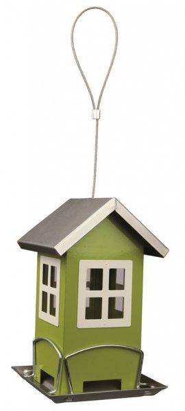 Trixie Futterhaus, 19x 20x 19 cm, grün/silber