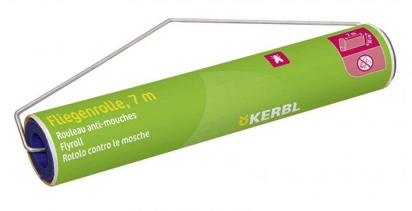 Kerbl Stall-Fliegenrolle mit Halter, 7 m