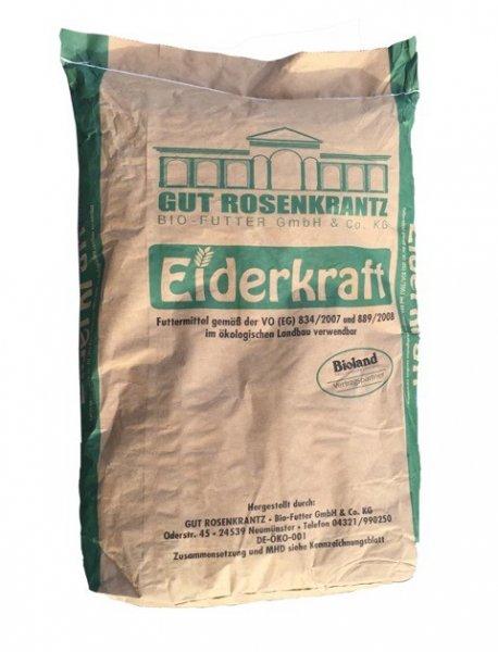Gut Rosenkrantz Eiderkraft Geflügelkörnerfutter, 25 kg
