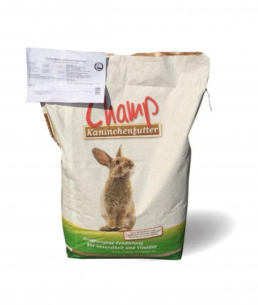 Champ getreidefreies Kaninchenfutter Mümmelmax mit Clino Plus, 10 kg
