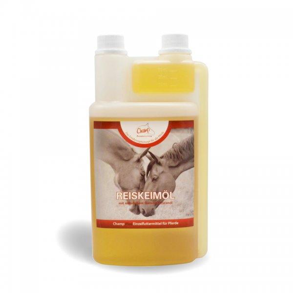 Champ Reiskeimöl für Pferde, 1000 ml