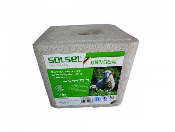 Solsel Mineralleckstein universal ohne Kupfer, 10 kg