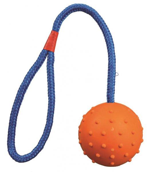 Trixie Ball am Seil, Naturgummi, 6 cm, 30 cm