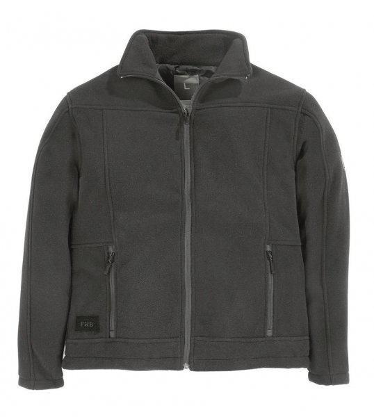 FHB Fleece-Jacke Roman, anthrazit