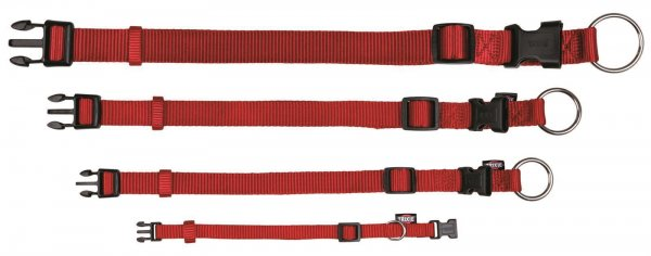 Trixie Premium Halsband, Größe XS-S, 22-35 cm, 10 mm, rot