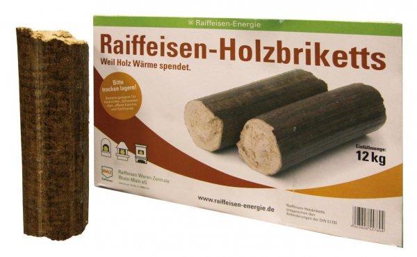 RWZ Hartholzbriketts, 12 kg