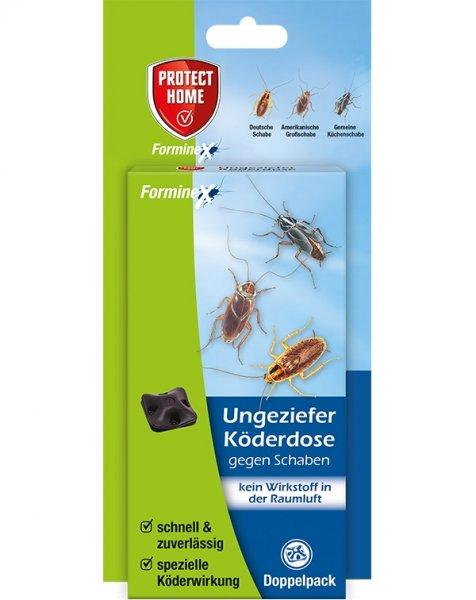 Protect Home Forminex Ungezieferköderdose gegen Schaben, 2 St.
