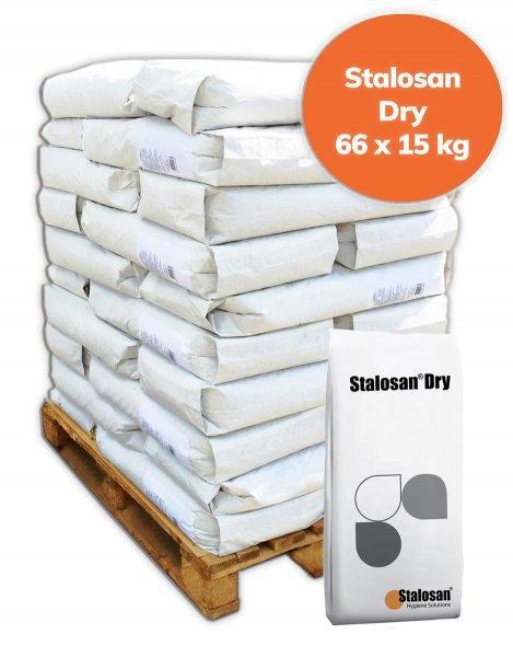 Palette Stalosan Dry Einstreupulver 900 kg, 66x 15 kg