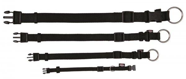 Trixie Premium Halsband, Größe S-M, 30-45 cm, 15 mm, blau