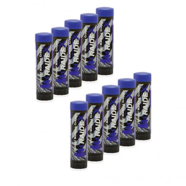 Kerbl Viehzeichenstift Raidl im Multipack, 10x blau