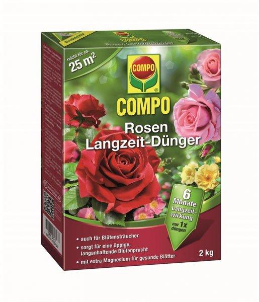 Compo Rosen Langzeit Dünger, 2 kg