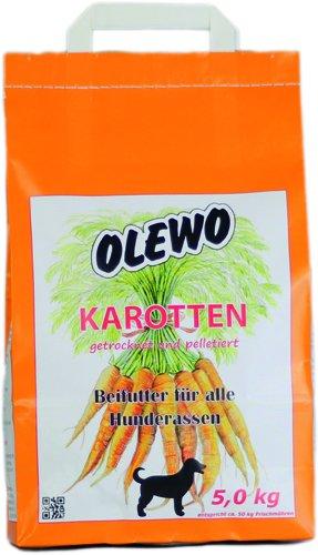Olewo Karotten-Pellets für Hunde, 5 kg