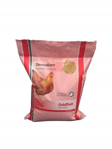 GoldDott ZentraKorn Körnerfutter Hühnerfutter, 5 kg