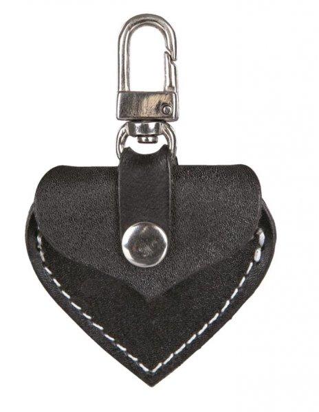 Trixie Adressherzchen, 5,5x 5 cm, schwarz