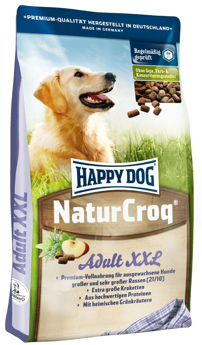 happy dog naturcroq xxl 15 kg happy dog trockenfutter. Black Bedroom Furniture Sets. Home Design Ideas