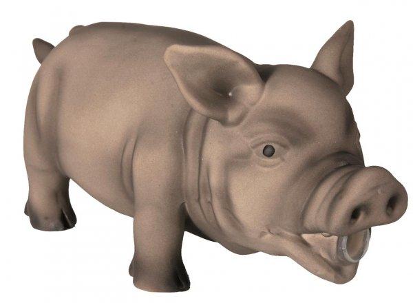 Trixie Schwein, Original-Tierstimme, 23 cm, Latex