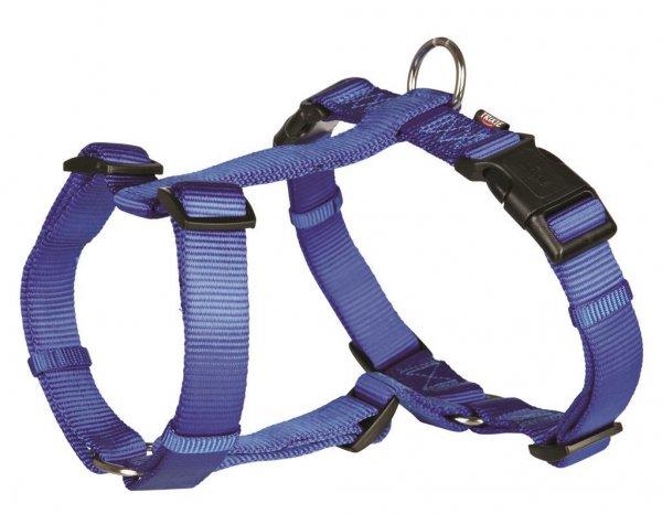 Trixie Premium H-Geschirr, Größe S-M, 40-65 cm, 15 mm, blau
