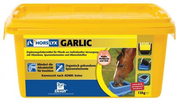 Derby® Horslyx Leckmasse für Pferde, Garlic, 15 kg