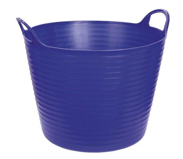 Kerbl Flexibler Trog FlexBag blau, 28 l