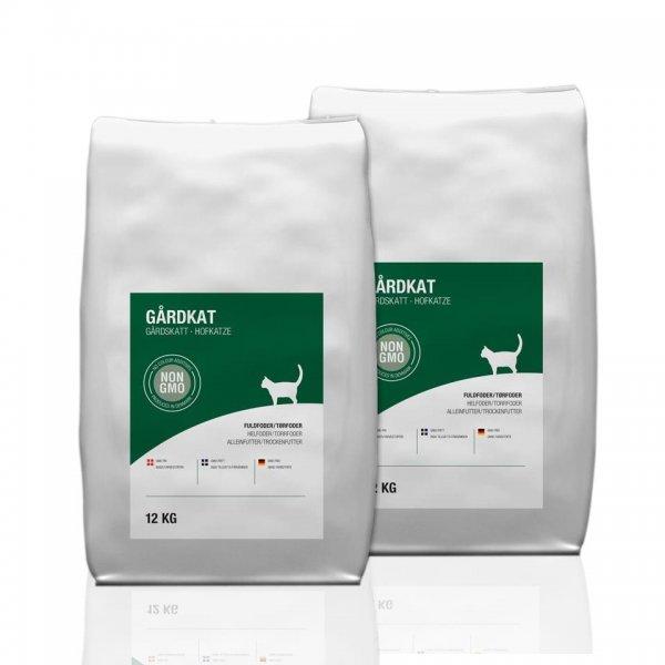 ScanFarm® Hofkatze Katzenfutter im Doppelpack, 2x 12 Kg