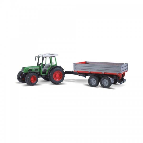 Bruder Fendt Traktor 209 S mit Bordwandanhänger