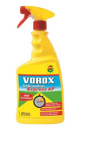 Compo Vorox Express AF Unkrautvernichter Glyphosatfrei, 1000 ml