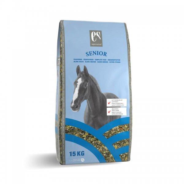 Equsana Senior Vollwertfutter Müsli für Pferde, 15 kg