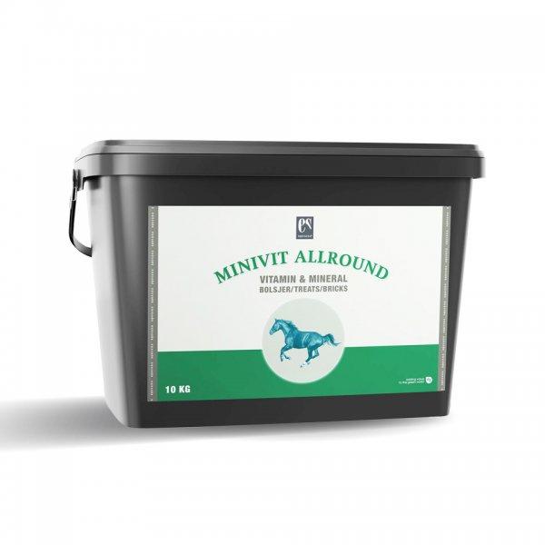 Equsana Minivit Allround Leckerlies für Pferde, 10 kg
