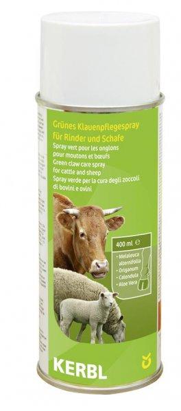 Kerbl Grünes Klauenpflegespray, 400 ml