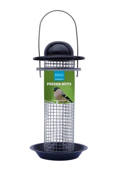 GardenLife Futterautomat für Nüsse, ø 12x 24 cm