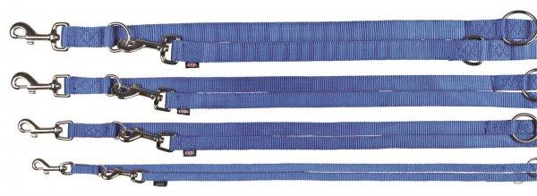 Trixie Premium V-Leine, Größe M-L, 2,00 m, 20 mm, blau