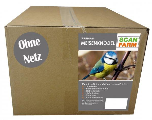 ScanFarm® Premium Meisenknödel ohne Netz, 100x 95 g