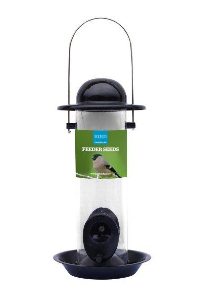 GardenLife Futterautomat für Wildvogelfutter, 12x 24 cm