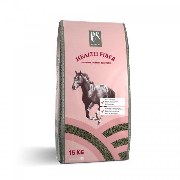 Equsana Health Fiber Strukturfutter für Pferde, 15 kg