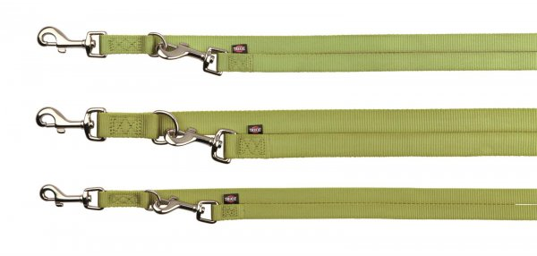 Trixie Premium V-Leine, Größe XS-S, 2,00 m, 15 mm, lindgrün