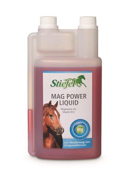 Stiefel Mag Power Liquid für Pferde, 1 l