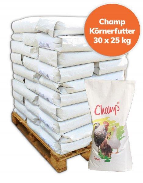 Palette Champ Geflügelkörnerfutter Hühnerfutter, 30x25 kg