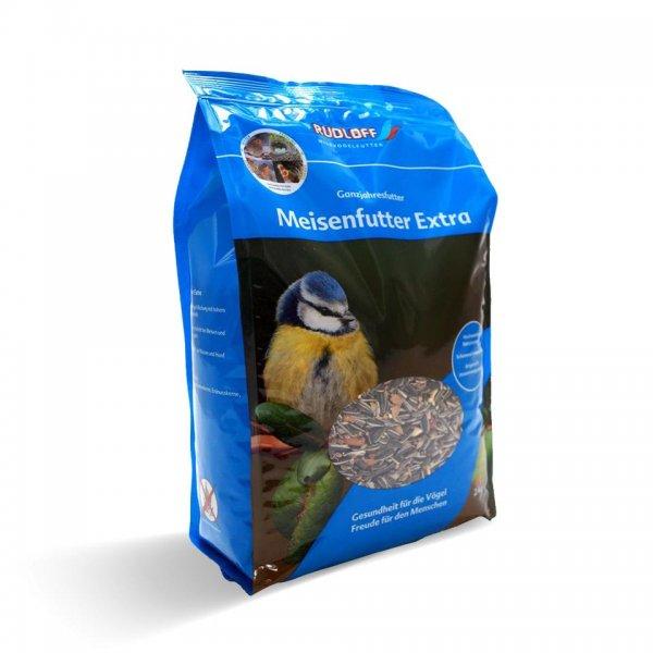 Rudloff Meisenfutter Extra für Wildvögel, 2 kg