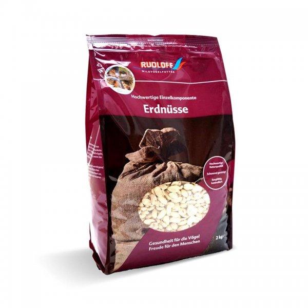 Rudloff Erdnusskerne für Wildvögel weiß/blanchiert, 2 kg