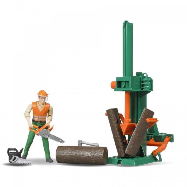 Bruder Figurenset Forstwirtschaft