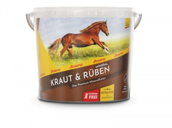 Josera Kraut & Rüben Mineral, 4 kg