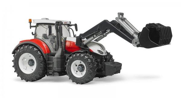 Bruder Steyr Traktor 6300 Terrus CVT mit Frontlader