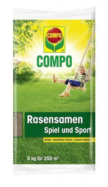 Compo Rasensamen Spiel und Sport, 5 kg