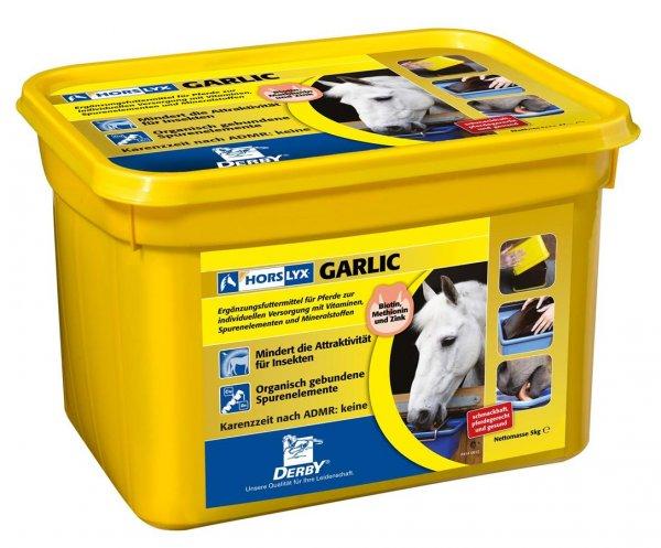 Derby® Horslyx Leckmasse für Pferde, Garlic, 5 kg